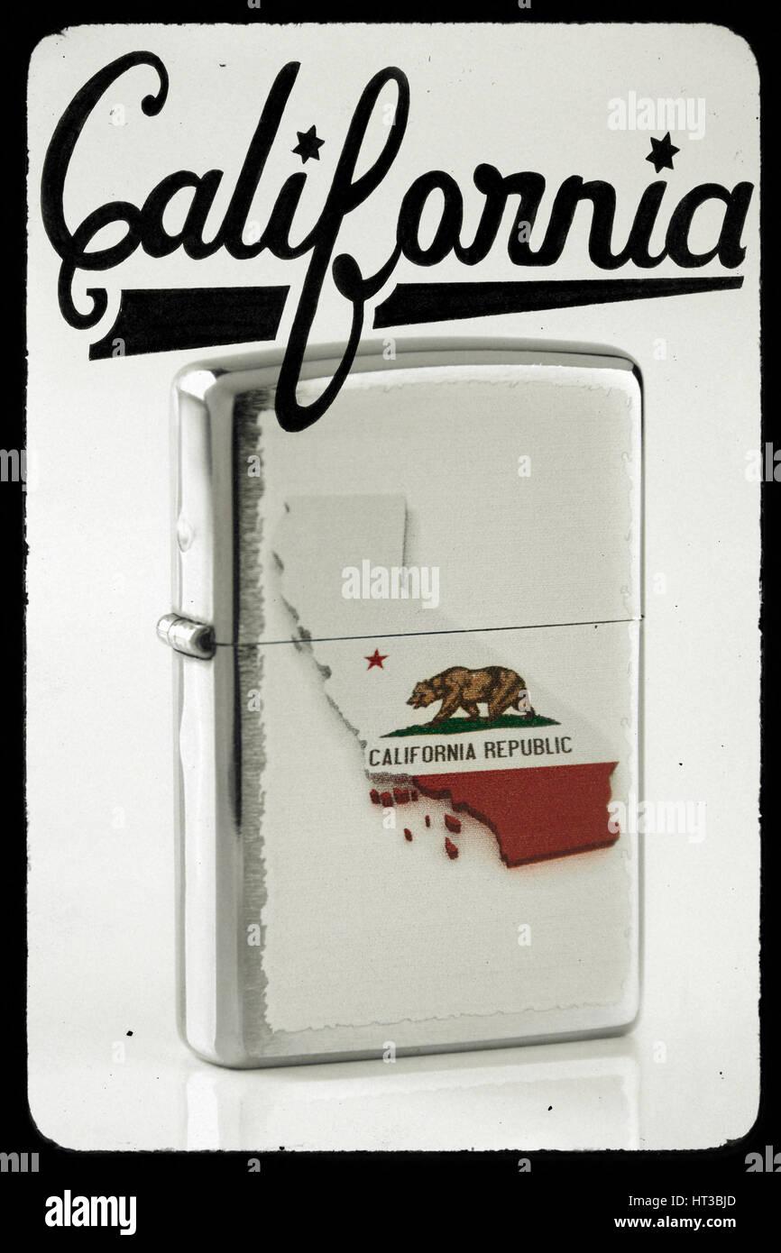 Cartello california usa Immagini Stock