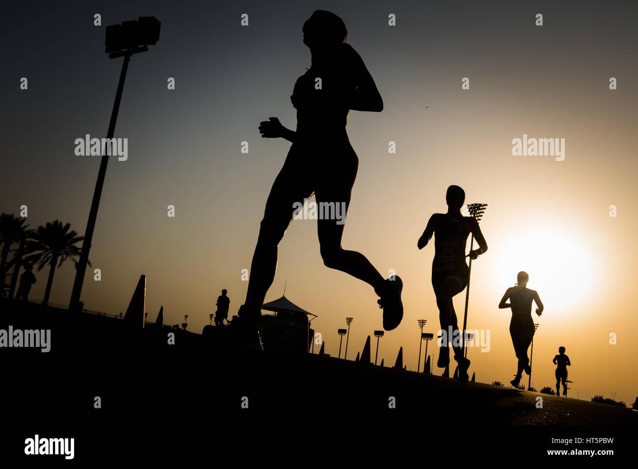 TriathlonFoto Stock