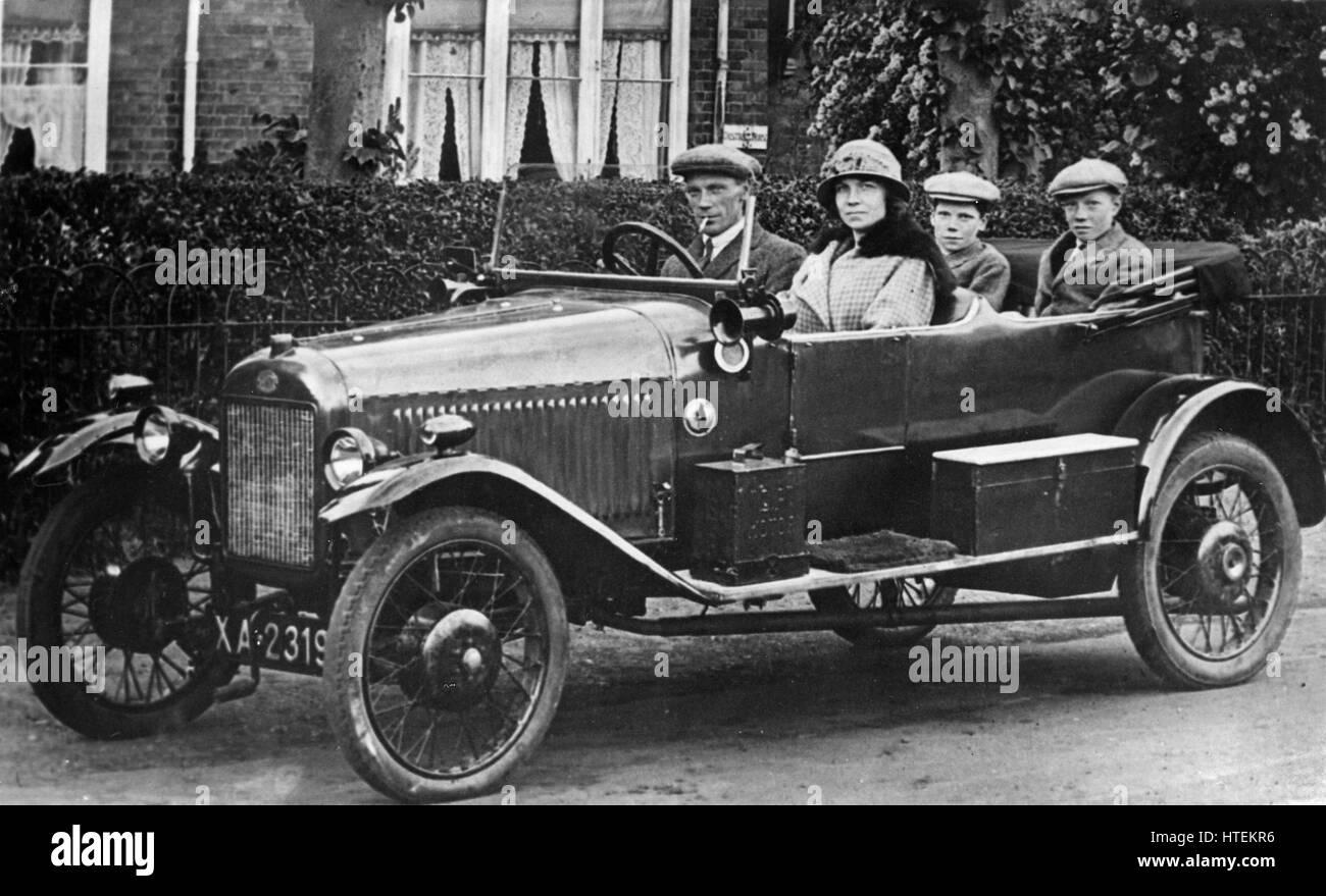 1920 GWK 10,8hp corpo Compton Immagini Stock