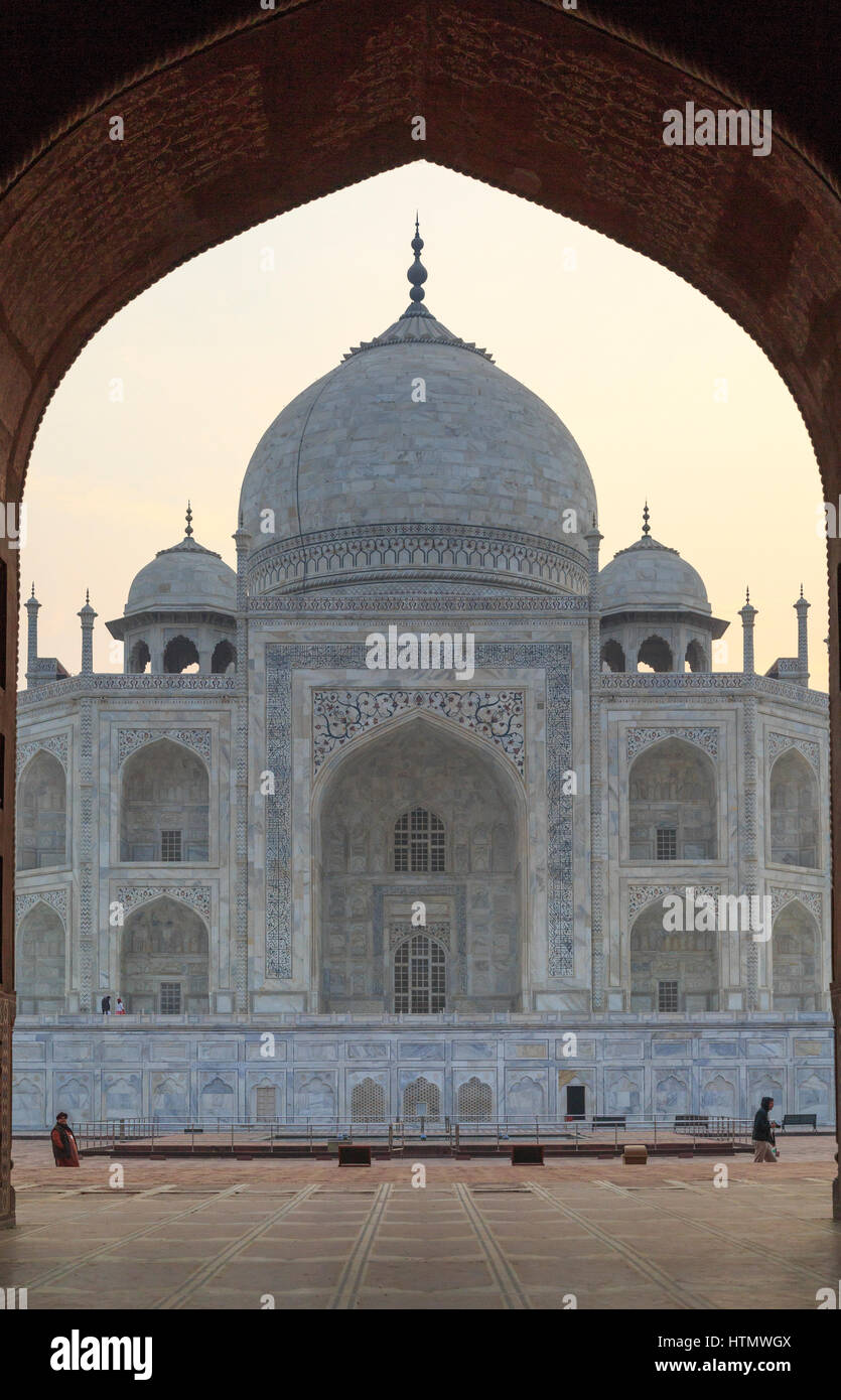 Taj Mahal, Uttar Pradesh, India Immagini Stock
