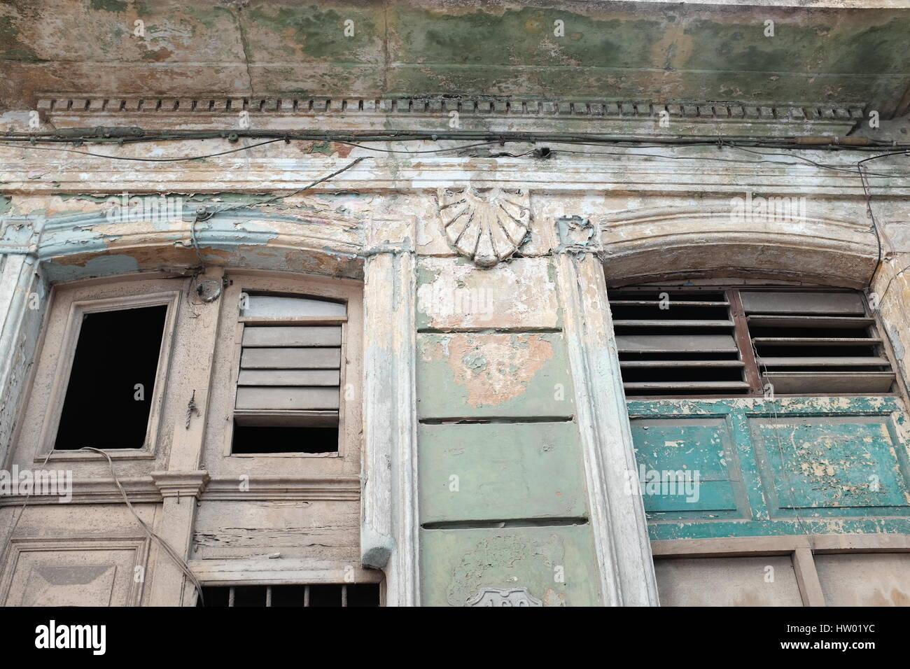 Vernice a spiovente Havana Cuba Immagini Stock