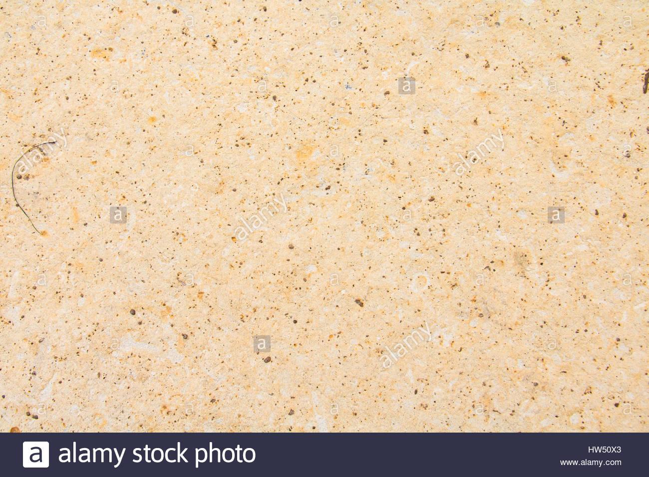 La texture di sfondo astratto, vista ravvicinata di strutturato colorati beige sabbia in spiaggia in Malsaforn Gozo Immagini Stock