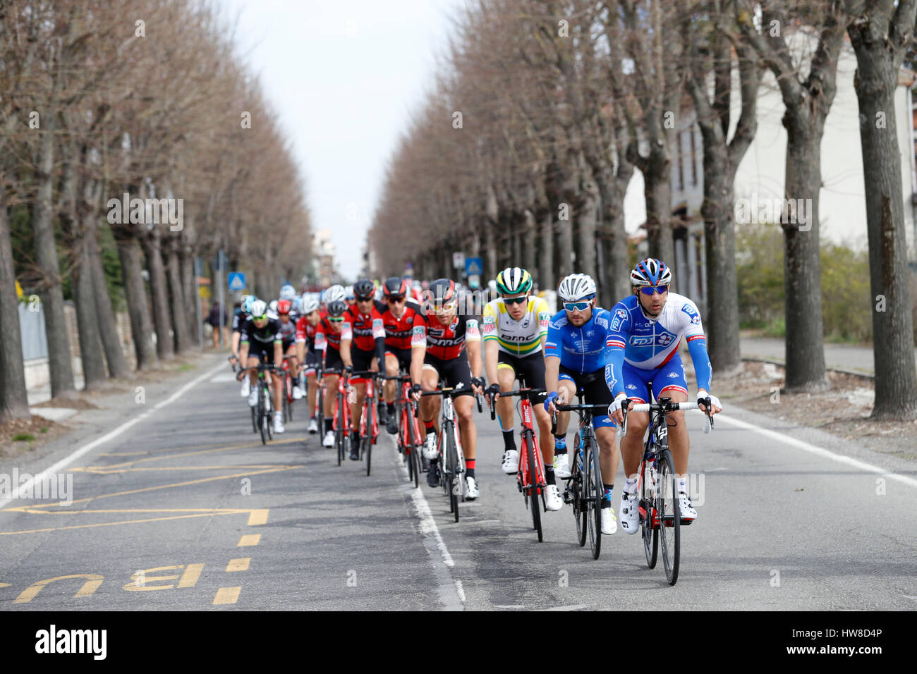 18 marzo 2017 108th Milano - Sanremo cofano William (FRA) FDJ Foto: Cronos/Yuzuru Sunada Foto Stock