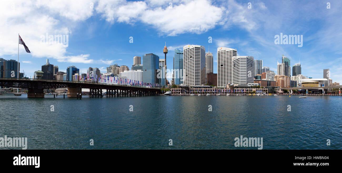 Darling Harbour, Sydney, Australia Immagini Stock