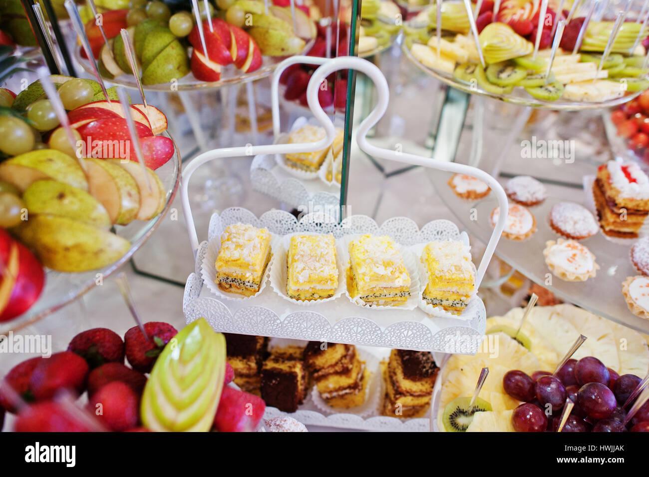 Buffet Di Dolci E Frutta : Ristorante la baita le cerimonie