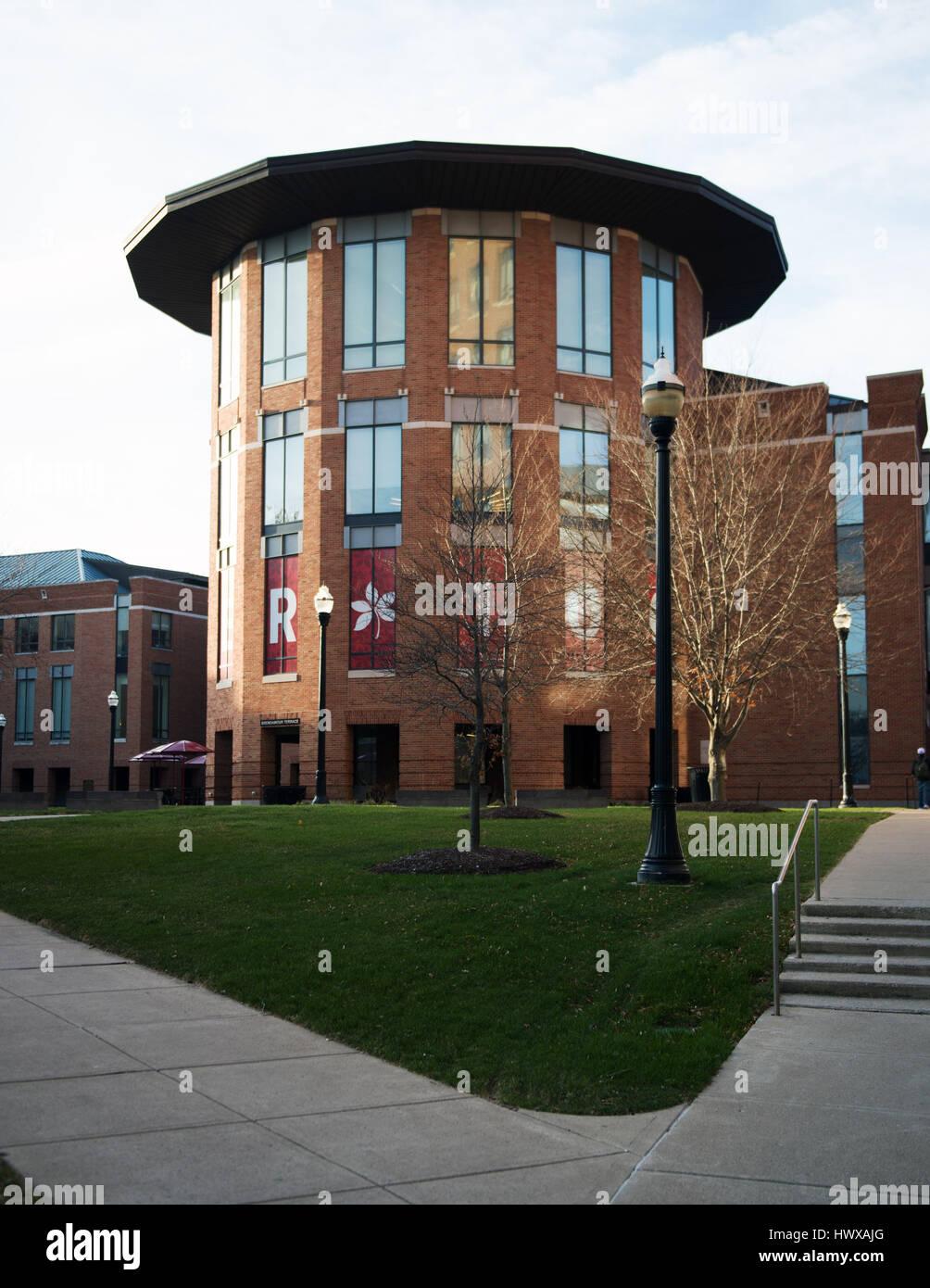 Marzo 23, 2017: Fisher College of Business presso la Ohio State University. Columbus, Ohio. Brent Clark/Alamy Live Immagini Stock