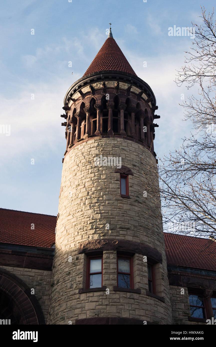 Marzo 23, 2017: Orton Hall presso la Ohio State University. Columbus, Ohio. Brent Clark/Alamy Live News Immagini Stock