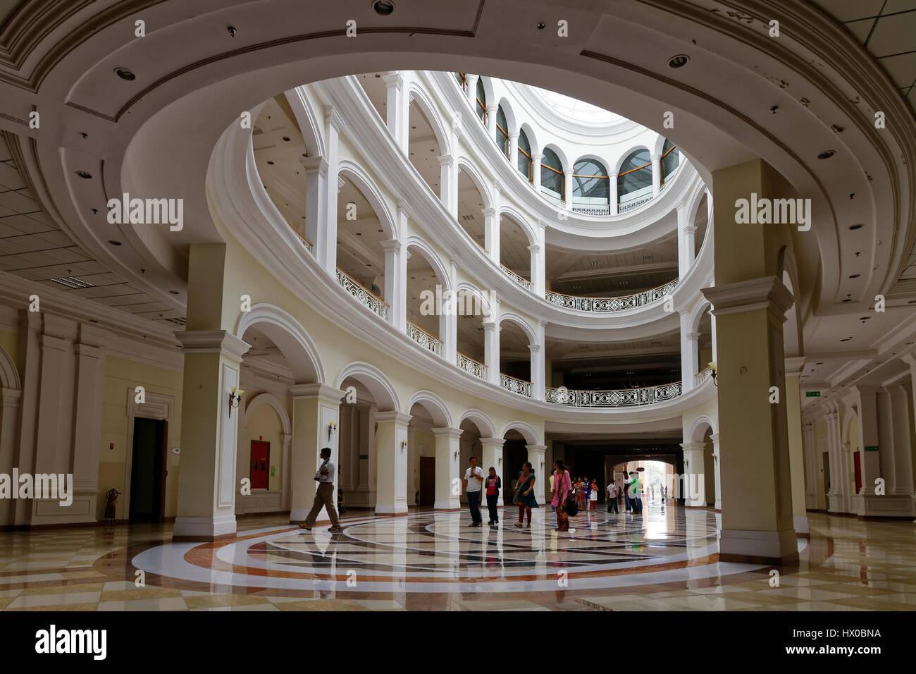 All'interno del campus di Infosys a Mysore, Karnataka, India Immagini Stock