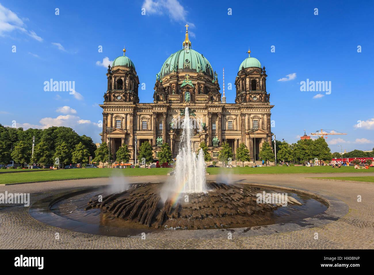 Cattedrale di Berlino, Berlino, Germania Immagini Stock