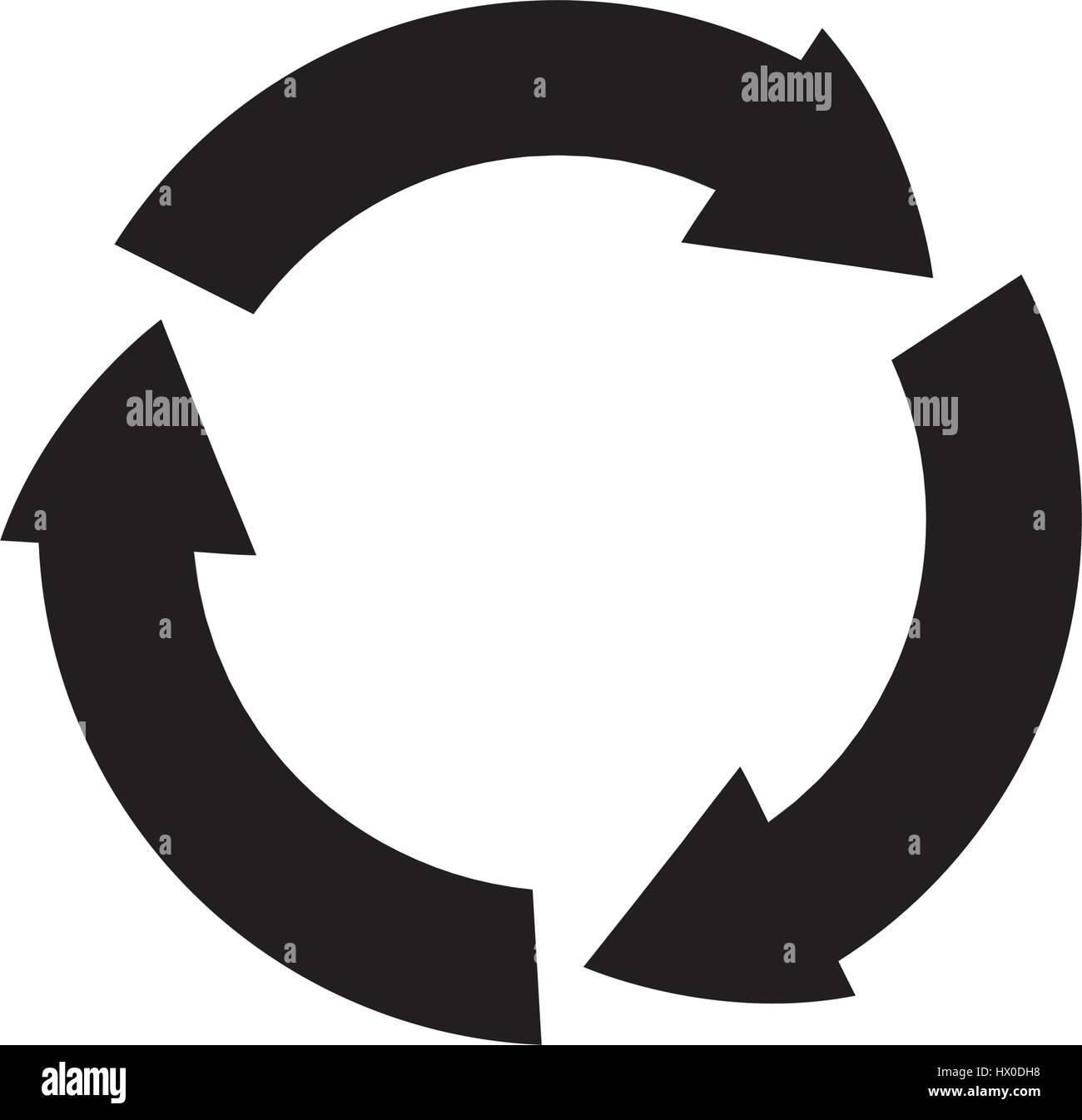 Ridurre di riciclo e riutilizzo Immagini Stock