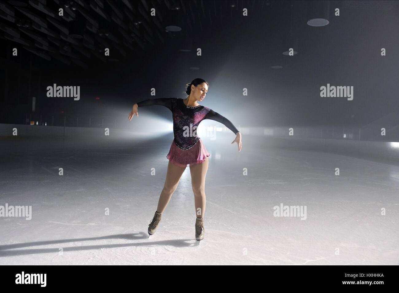 FRANCIA RAISA il bordo di taglio: Fire & Ice (2010) Immagini Stock