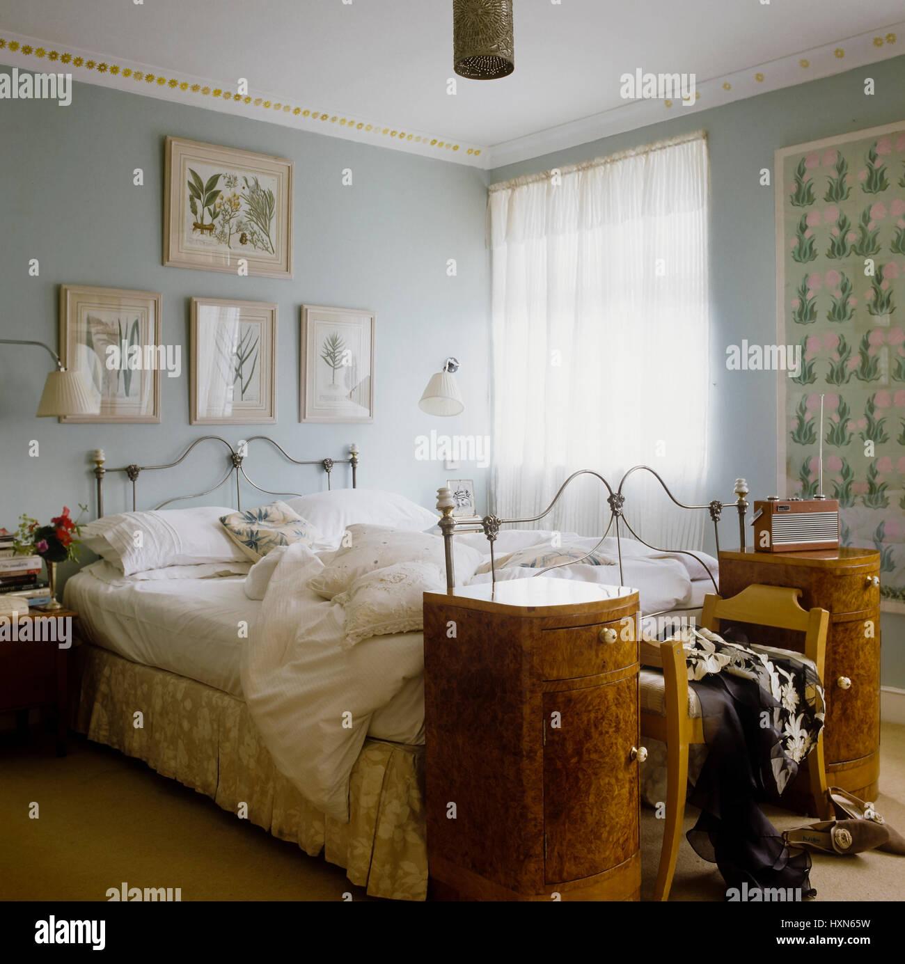 Pastello stile country camera da letto Foto & Immagine Stock ...