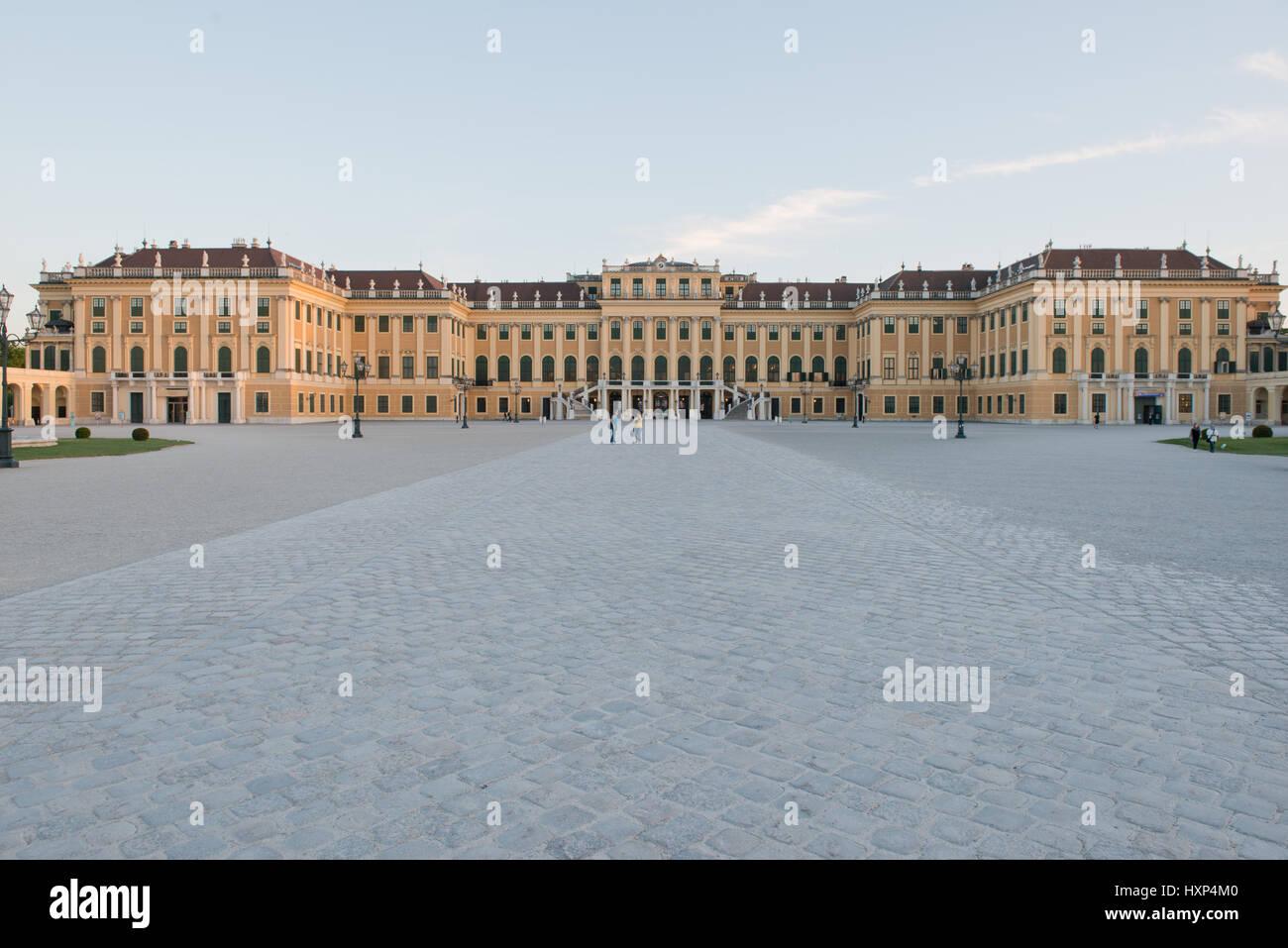 Schloss Schönbrunn, Wien Österreich Foto Stock