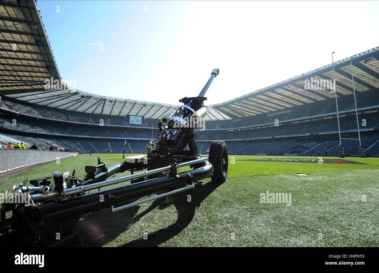 Gli onorevoli artiglieria COMPA INGHILTERRA RU V GALLES INGHILTERRA RU V GALLES RU TWICKENHAM Londra Inghilterra Immagini Stock