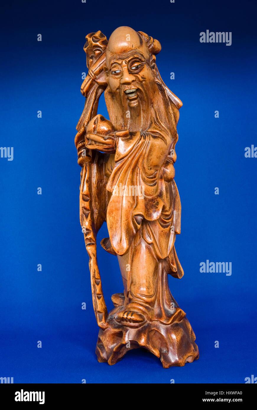 Shou Xing dio cinese di longevità Immagini Stock