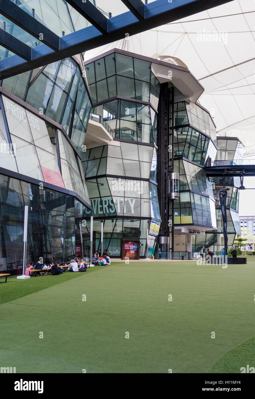 LASALLE College of Arts, Singapore Foto Stock