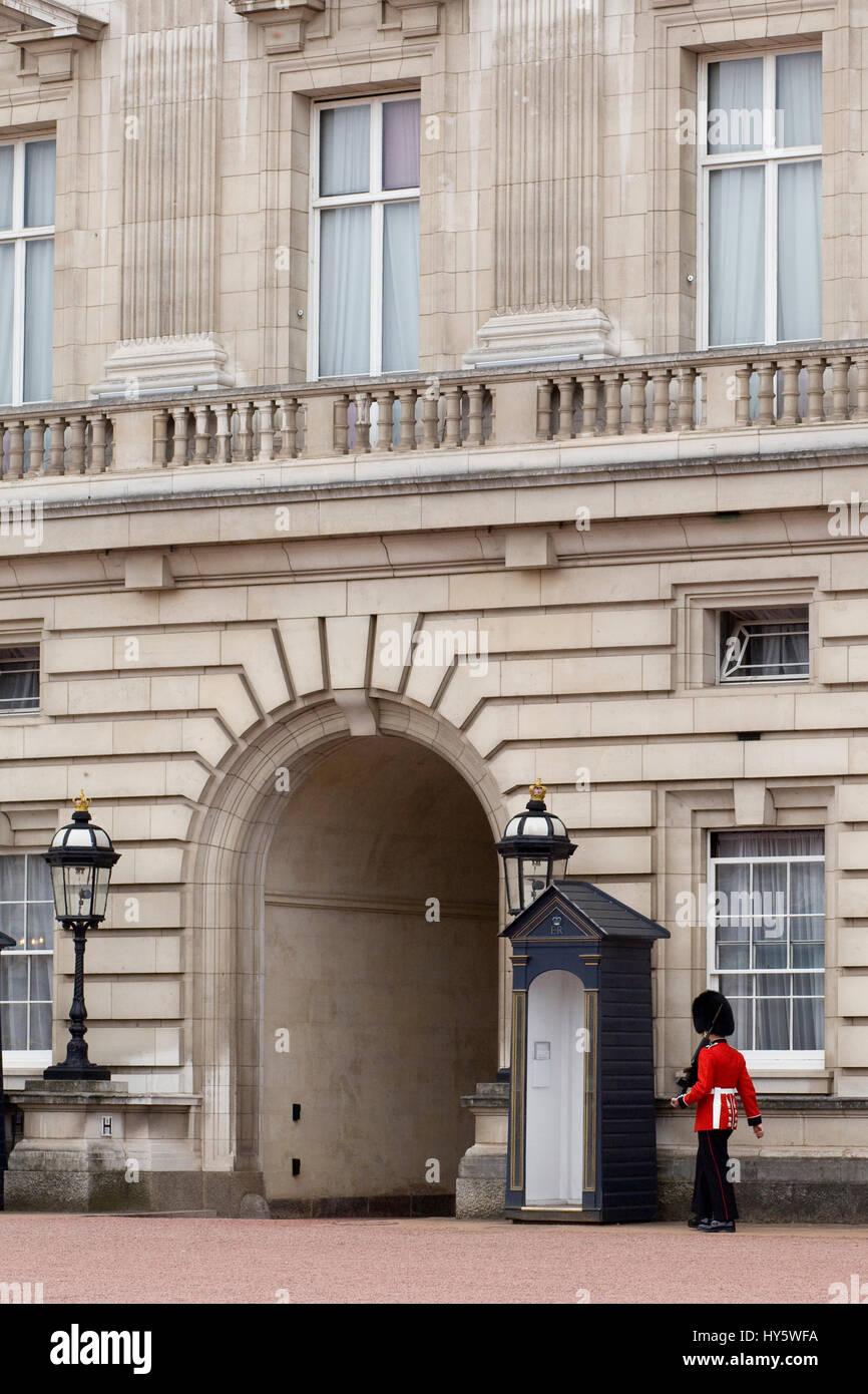 Buckingham Palace, London, England, Regno Unito Foto Stock