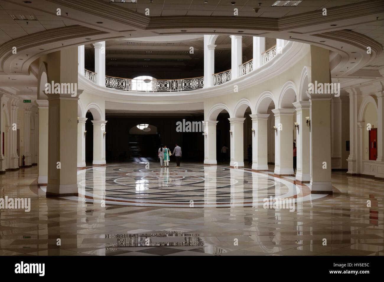 All'interno di campus Infosys a Mysore, India Immagini Stock