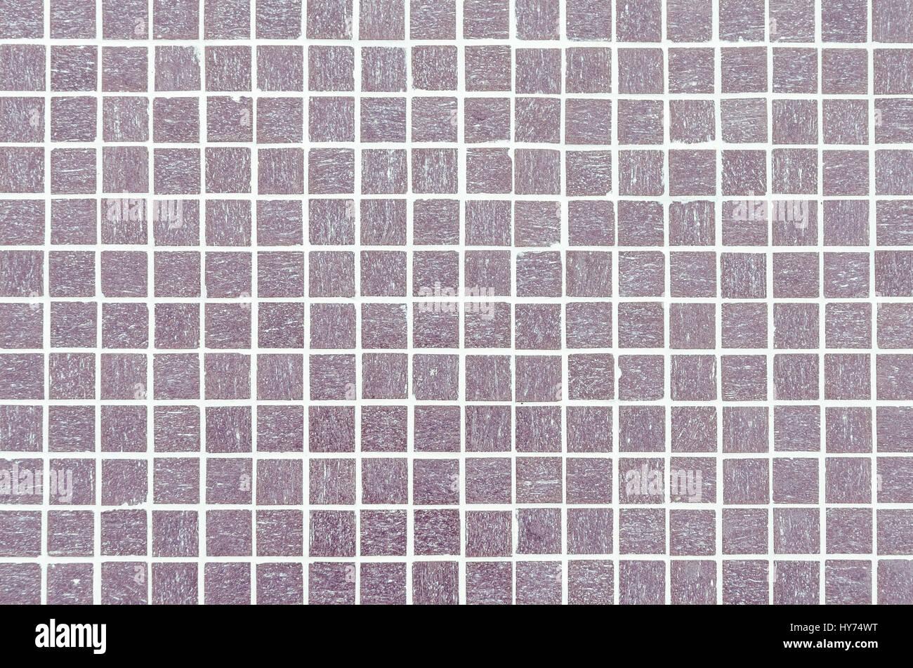 Piastrelle Bagno Mosaico Viola viola di piastrelle a mosaico texture con riempimento bianco