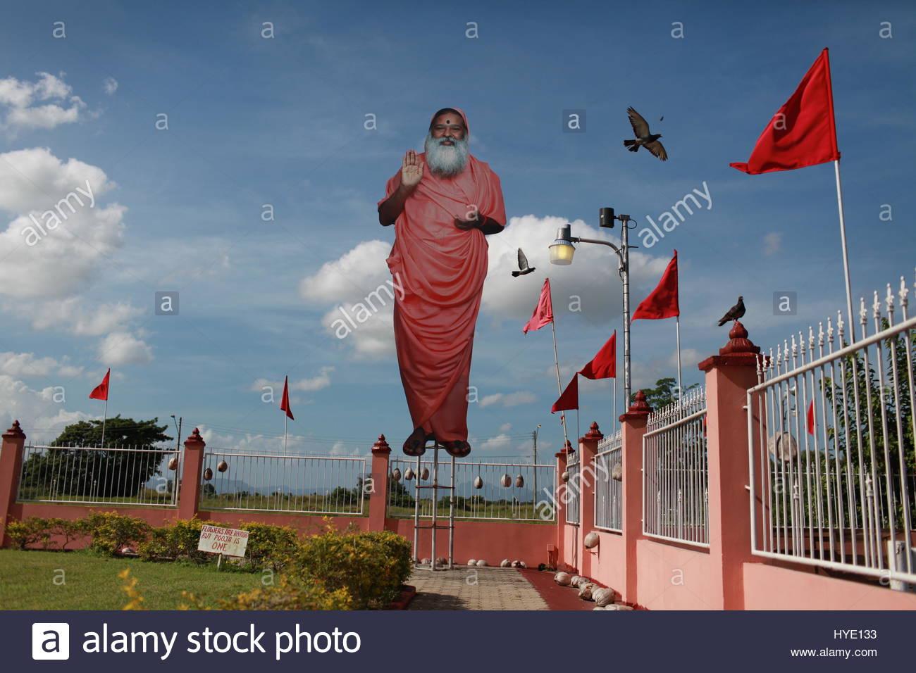Trinidad Oriente comunità indiana. Immagini Stock