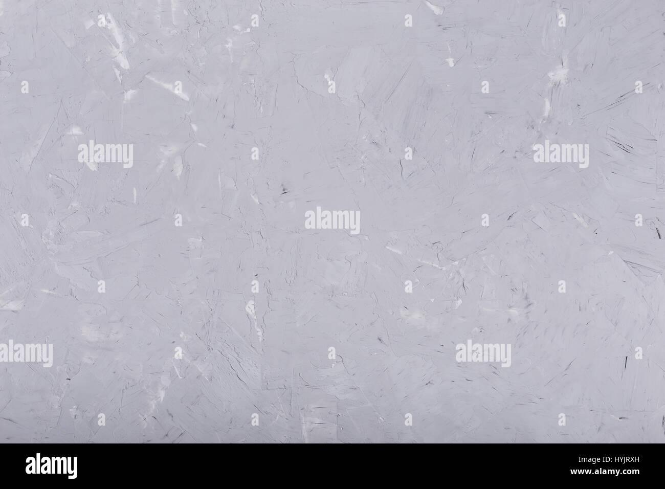 Parete di gesso texture di sfondo colore grigio chiaro foto