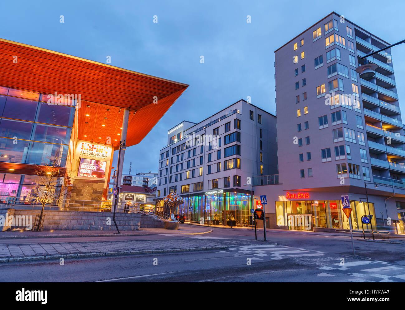 Lulea, Svezia Immagini Stock