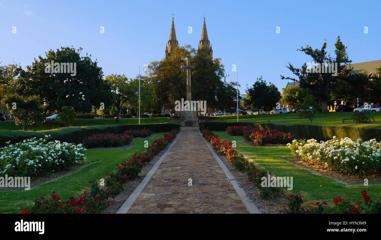 Croce di sacrificio Memorial Gardens. Immagini Stock