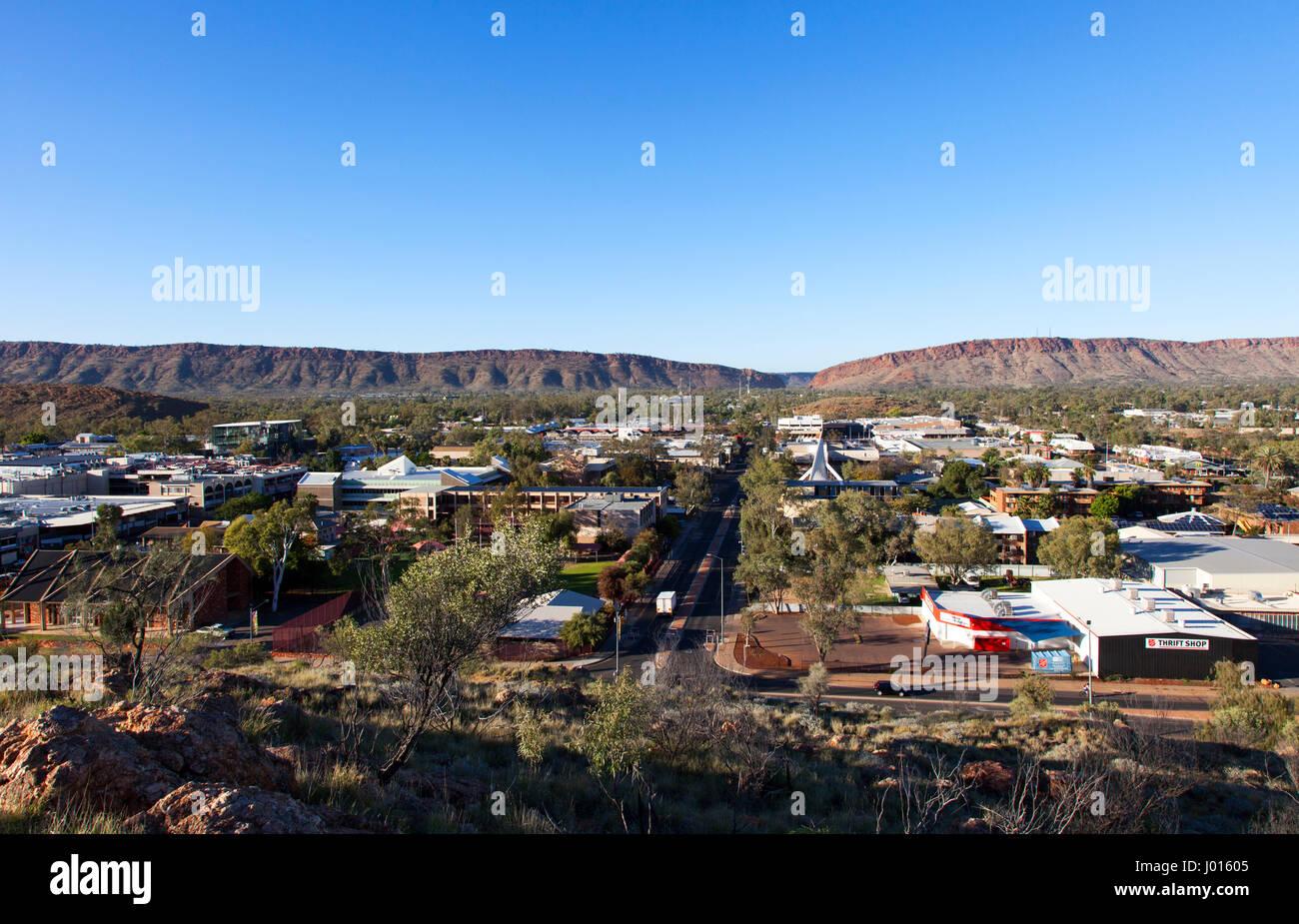 Alice Springs, Territorio del Nord, l'Australia Immagini Stock