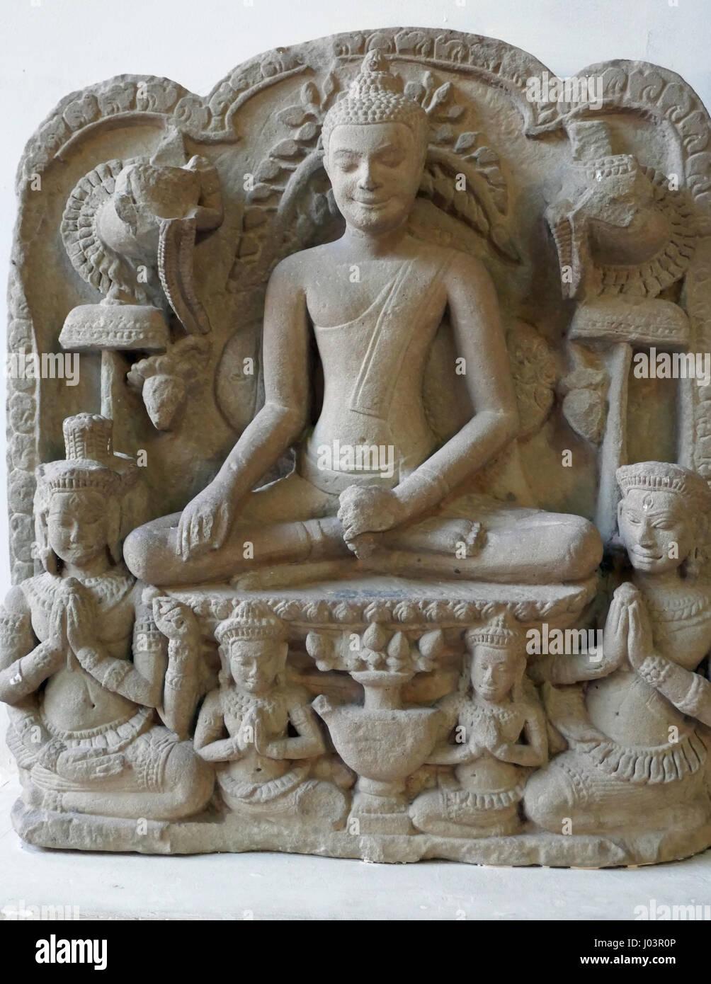 Museo nazionale della Cambogia, Phnom Penh Immagini Stock