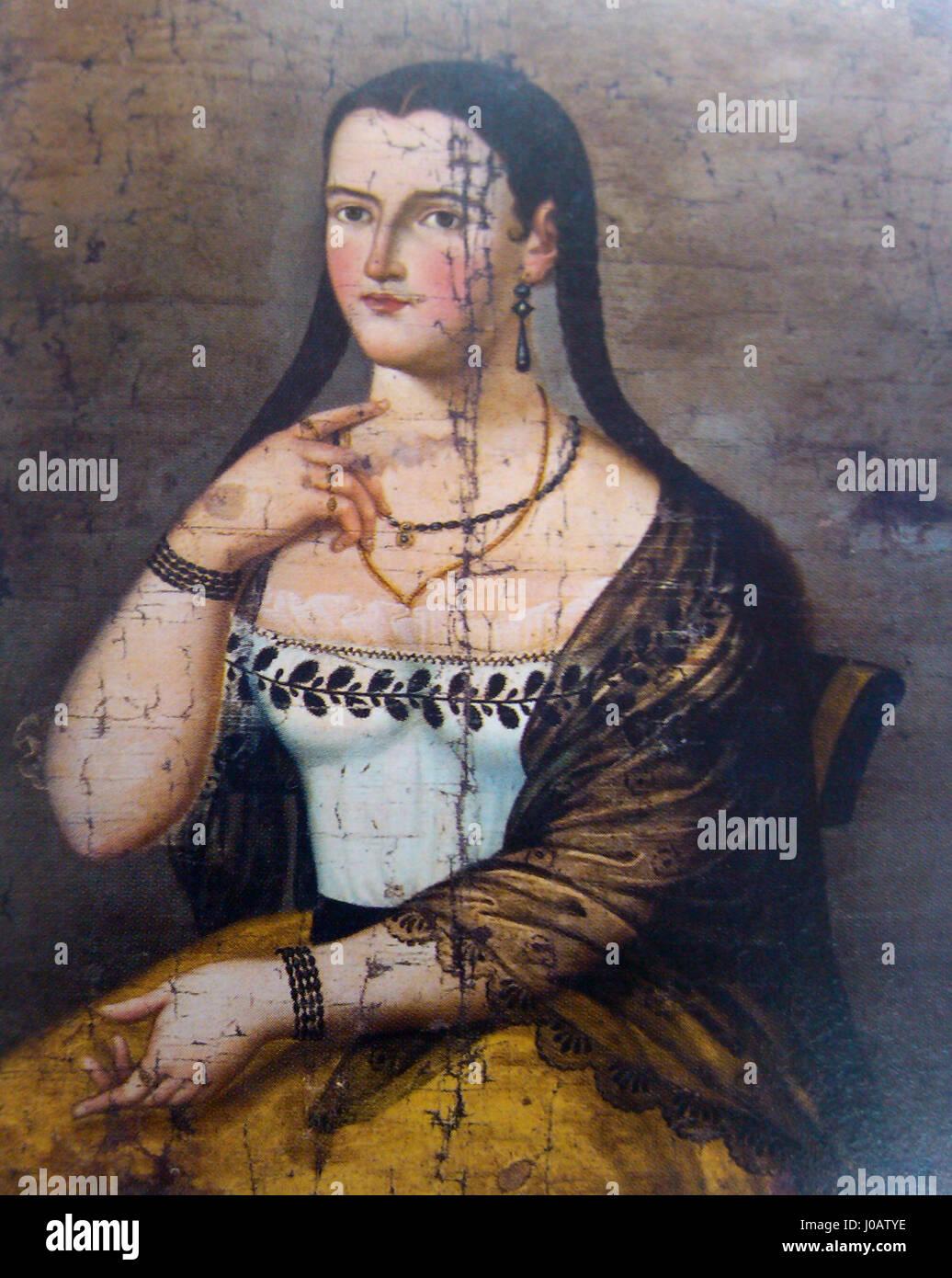 Manuela Cañizares (adolescente) 02 Immagini Stock