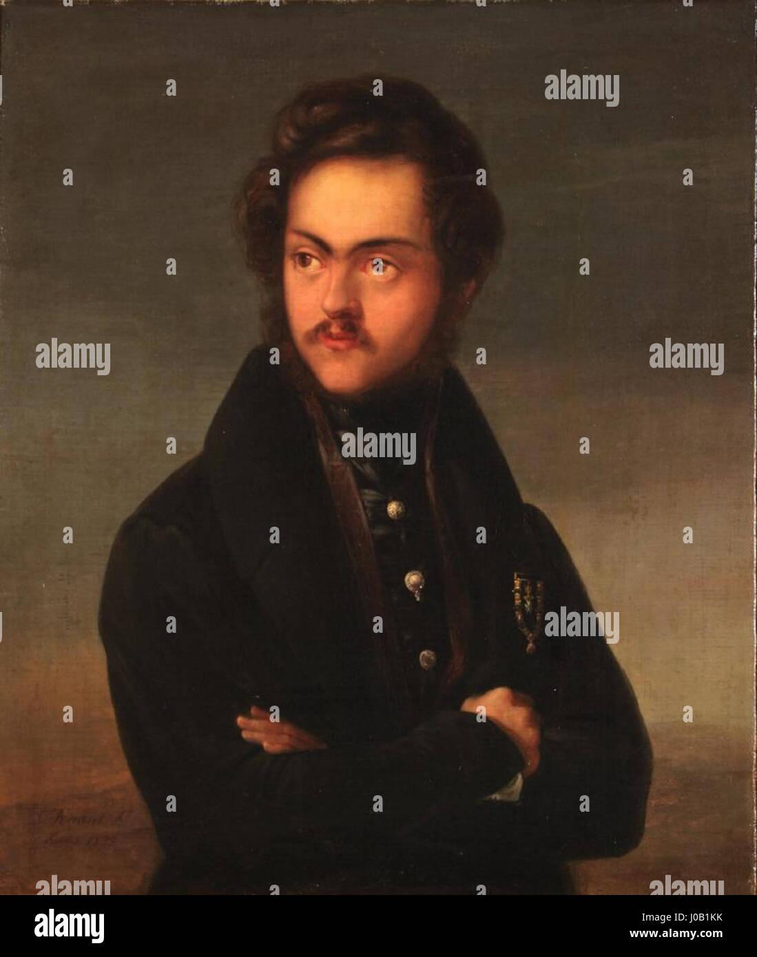Sebastián Gabriel de Borbón (Museo del Romanticismo de Madrid) Immagini Stock