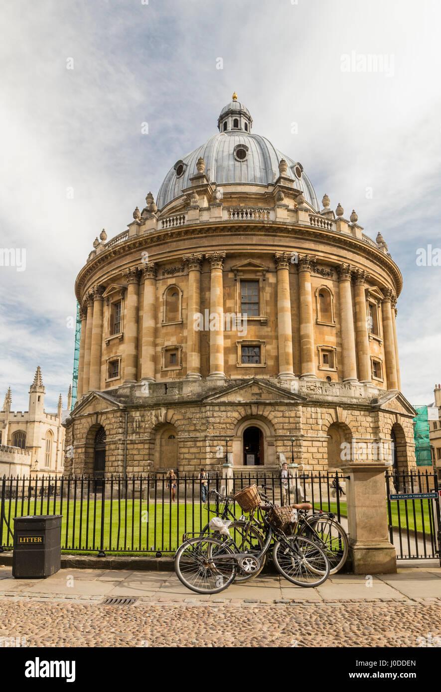 Radcliffe Camera una parte della biblioteca Bodleian, Oxford University (UK) Immagini Stock