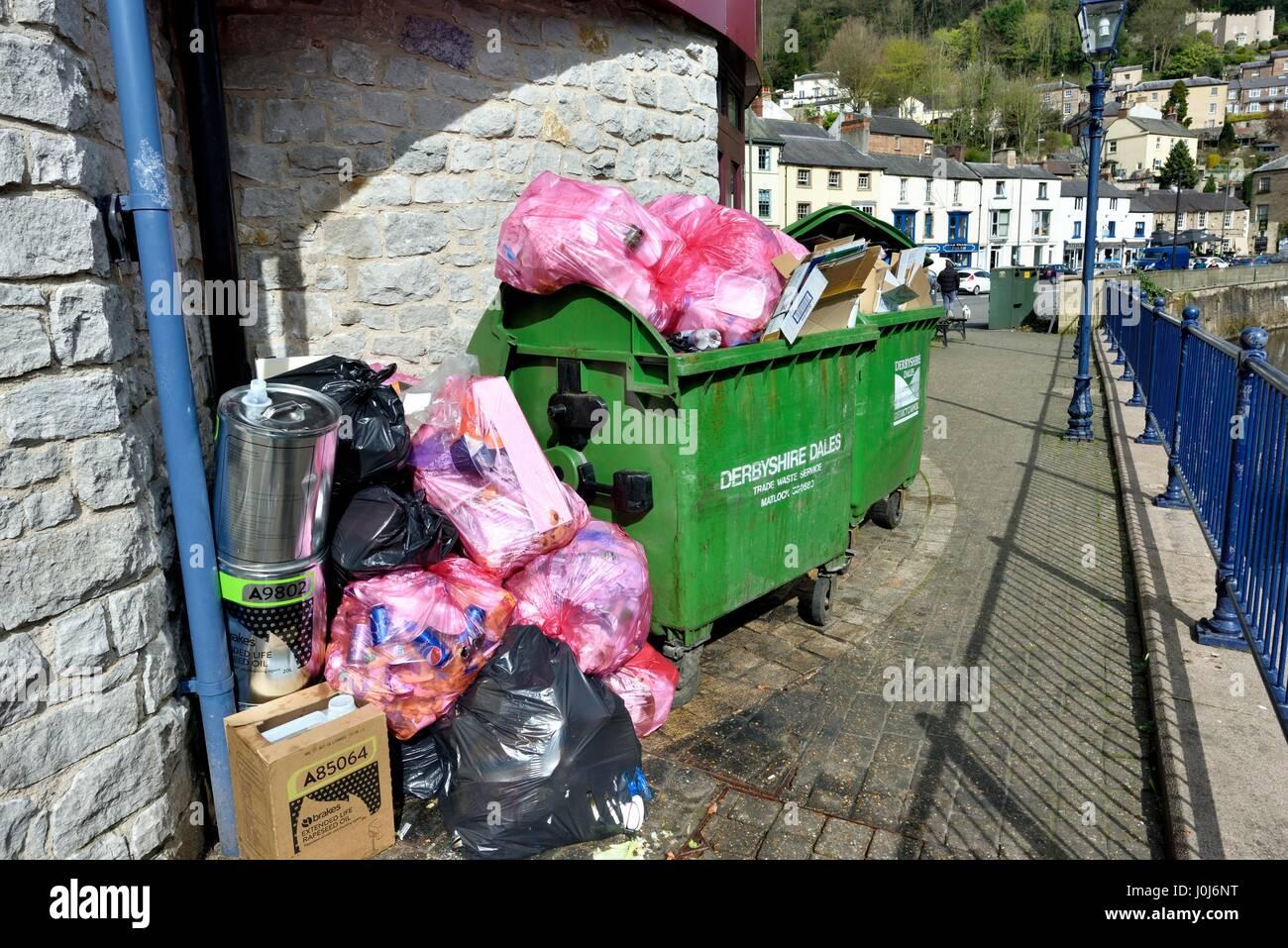 Gestione dei rifiuti Immagini Stock