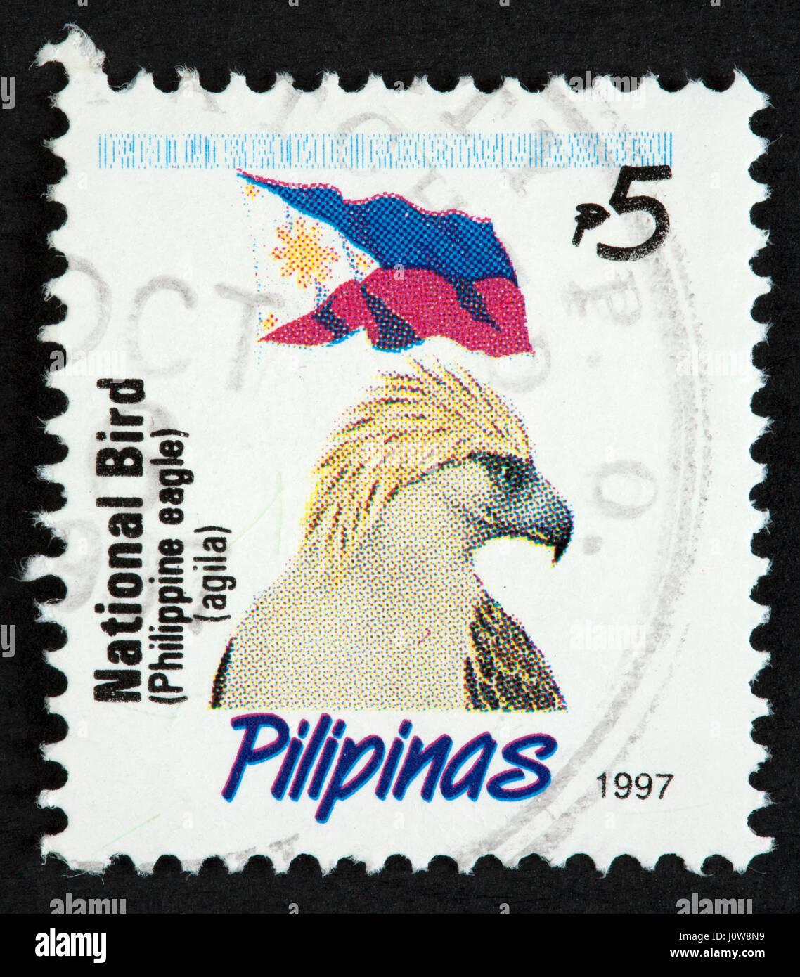 Filippino francobollo Immagini Stock