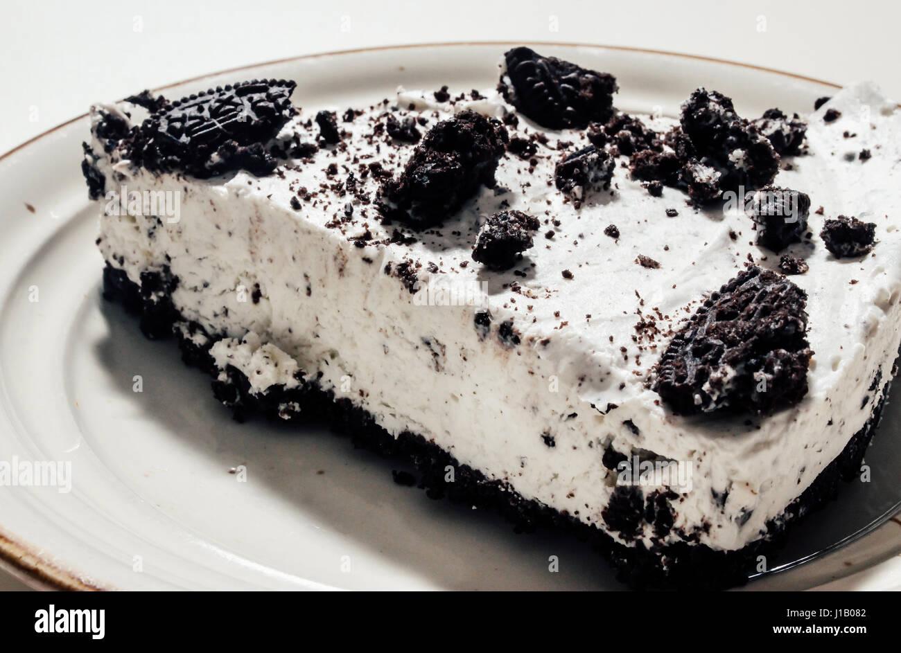 Cheesecake Oreooo Immagini Stock