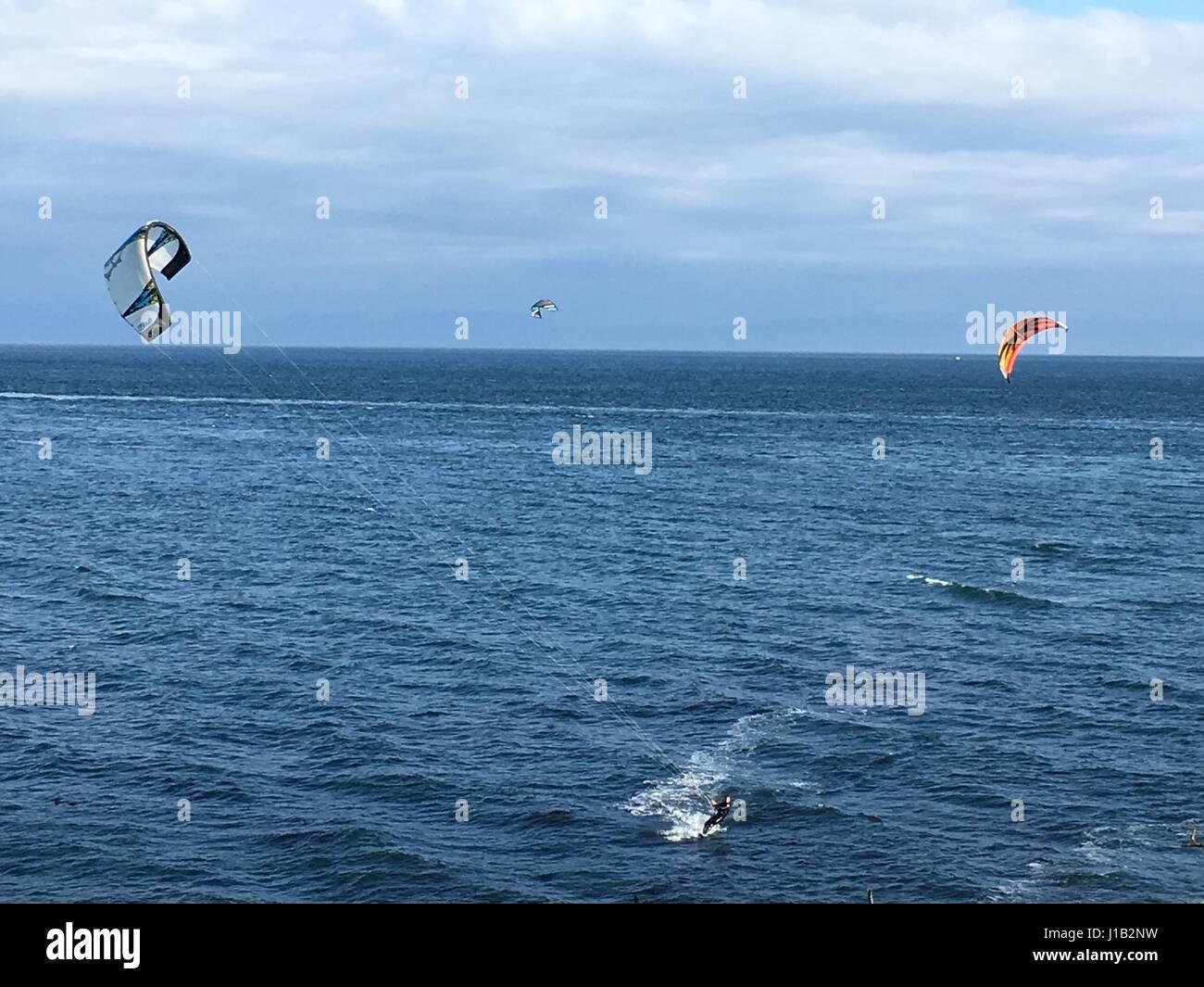Wind surf Immagini Stock