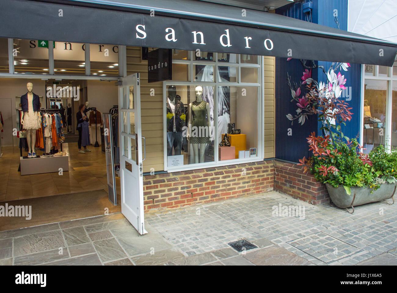 rivenditore all'ingrosso 63bcb 9d8b1 Sandro negozio di abbigliamento retail store REGNO UNITO ...