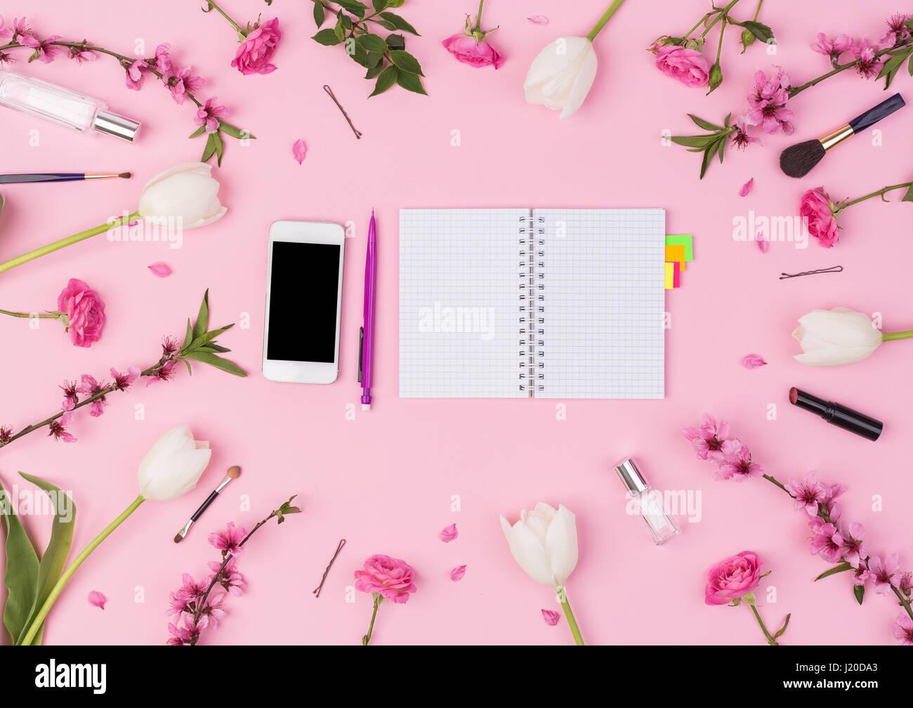 Girly Beauty Blog Molla Concetto Bloggerworkspace Femminile Con
