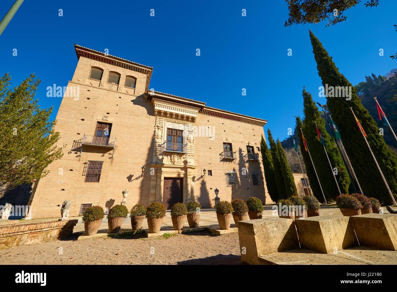 Palacio de los Córdoba (Archivio storico), Granada, Andalusia, Spagna, Europa Immagini Stock