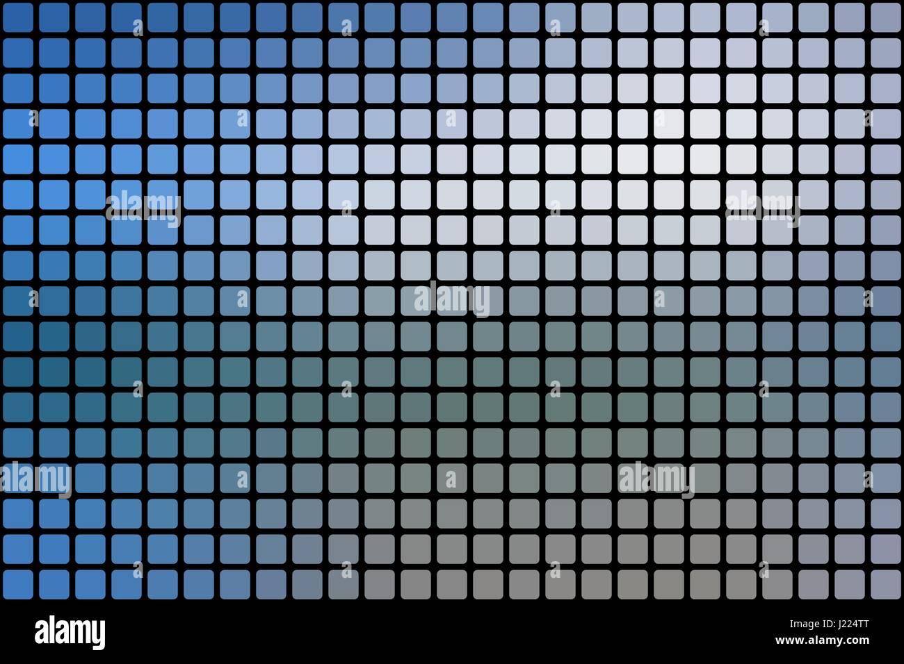 Bianco Blu Sfumature Vettore Mosaico Astratto Sfondo Con Quadrato