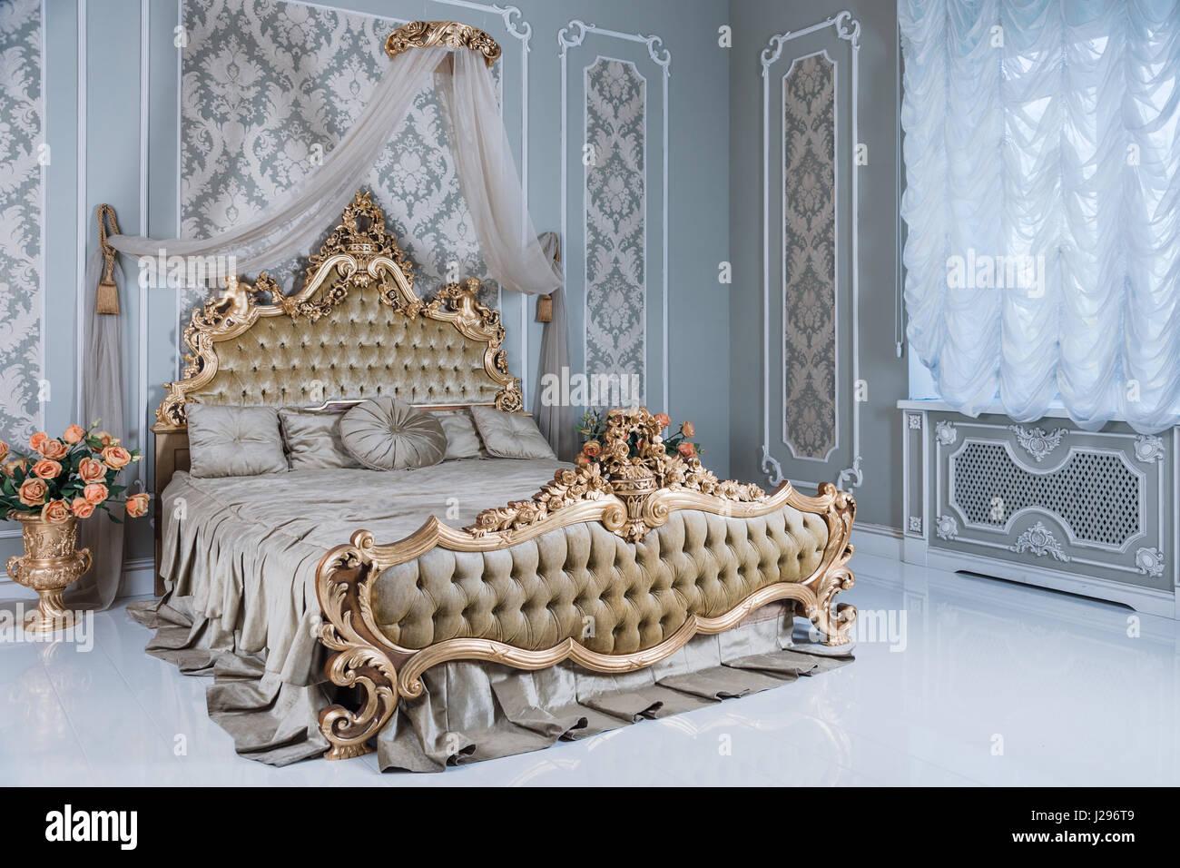 Letti Imbottiti Classici Di Lusso : Camere da letto di lusso
