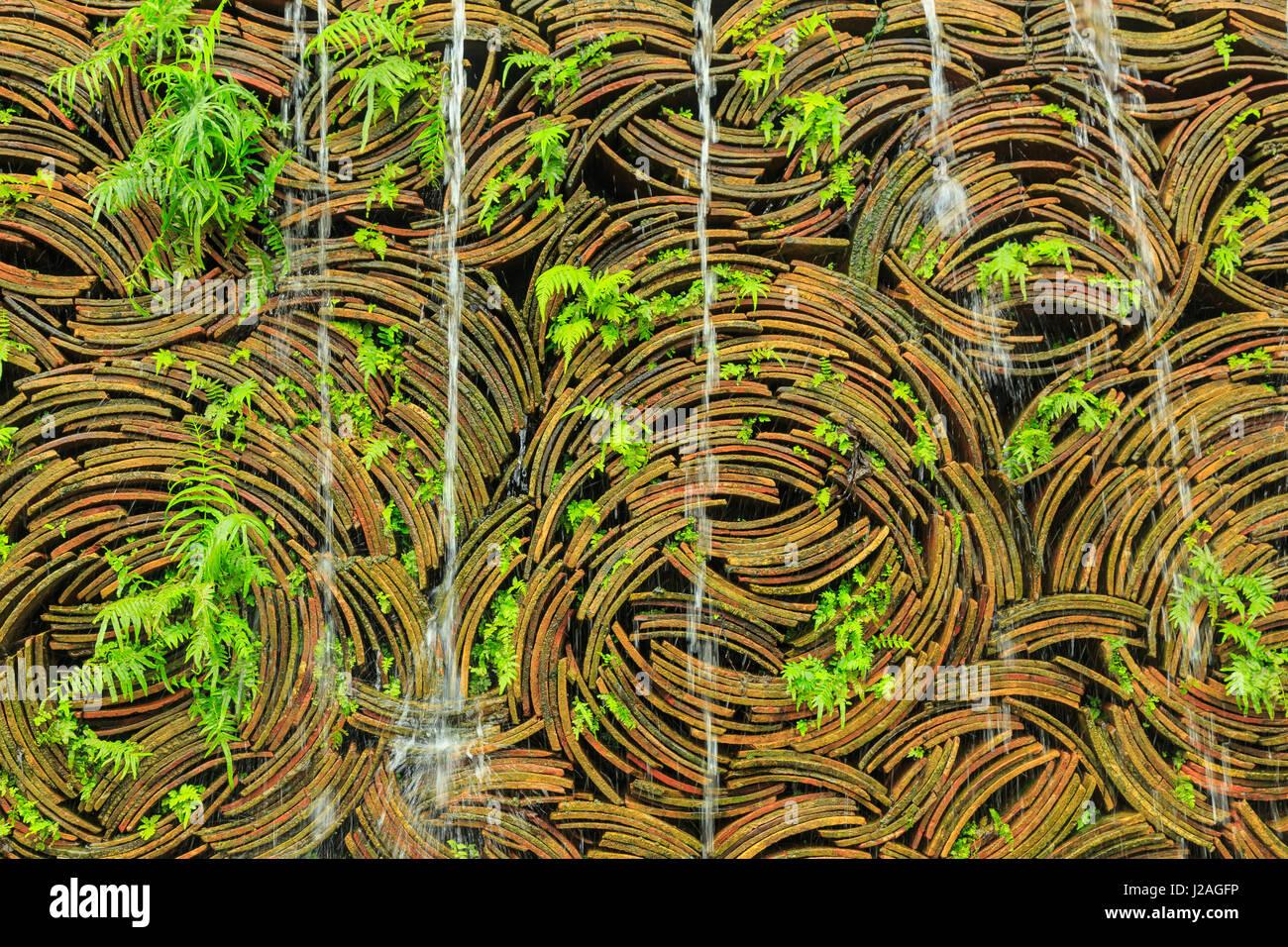 Piastrelle impilate per la cascata nanfeng forno più antico della