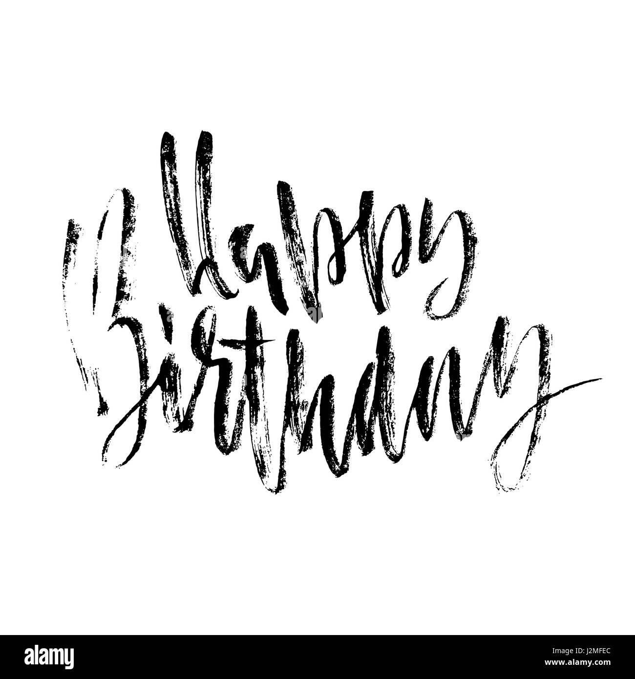 Buon Compleanno Di Scritte Per Invito E Biglietto Di Auguri Poster