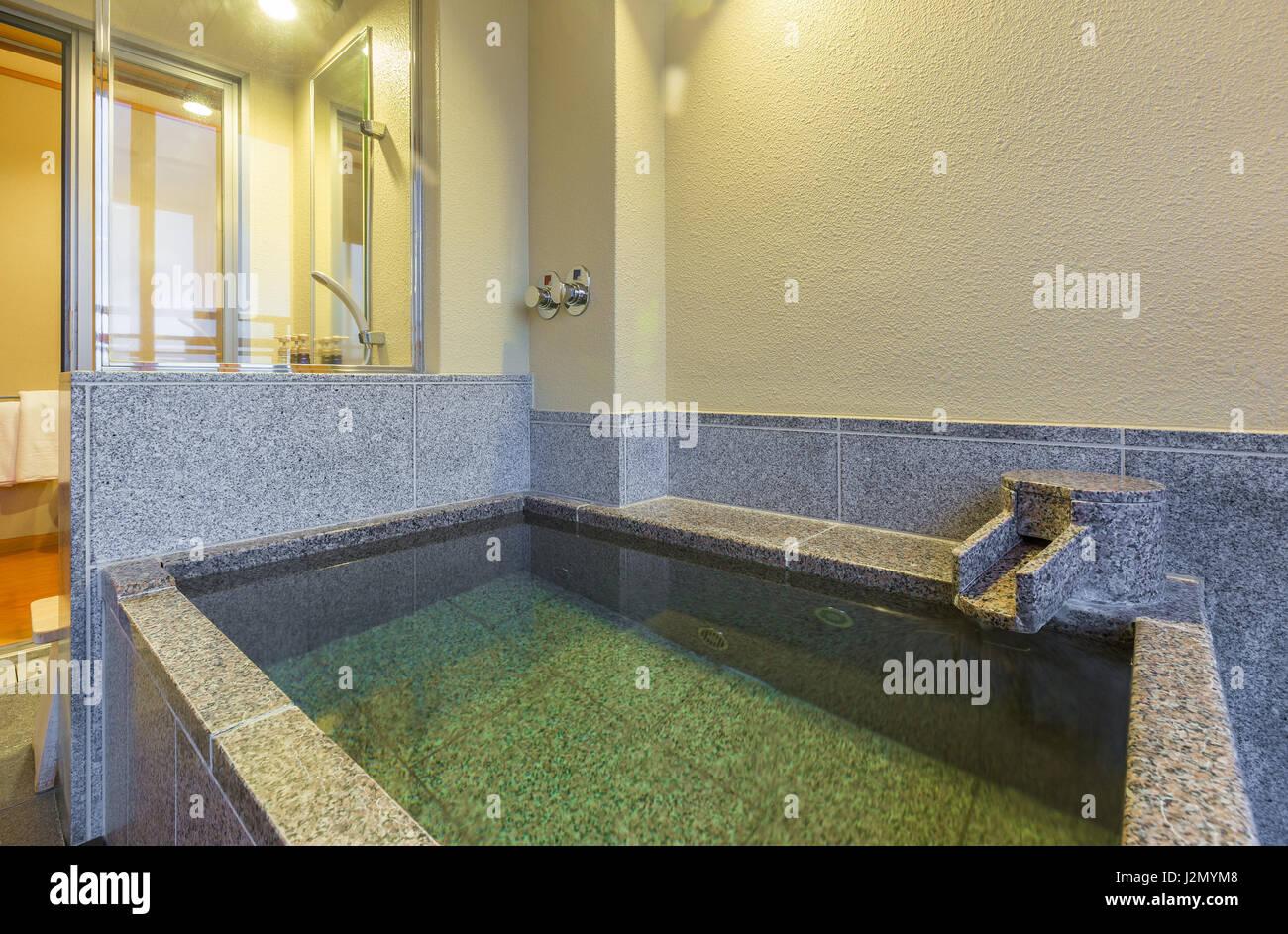 Vasca Da Bagno Stile Giapponese : Onsen privato vasca da bagno in stile giapponese vasca da bagno