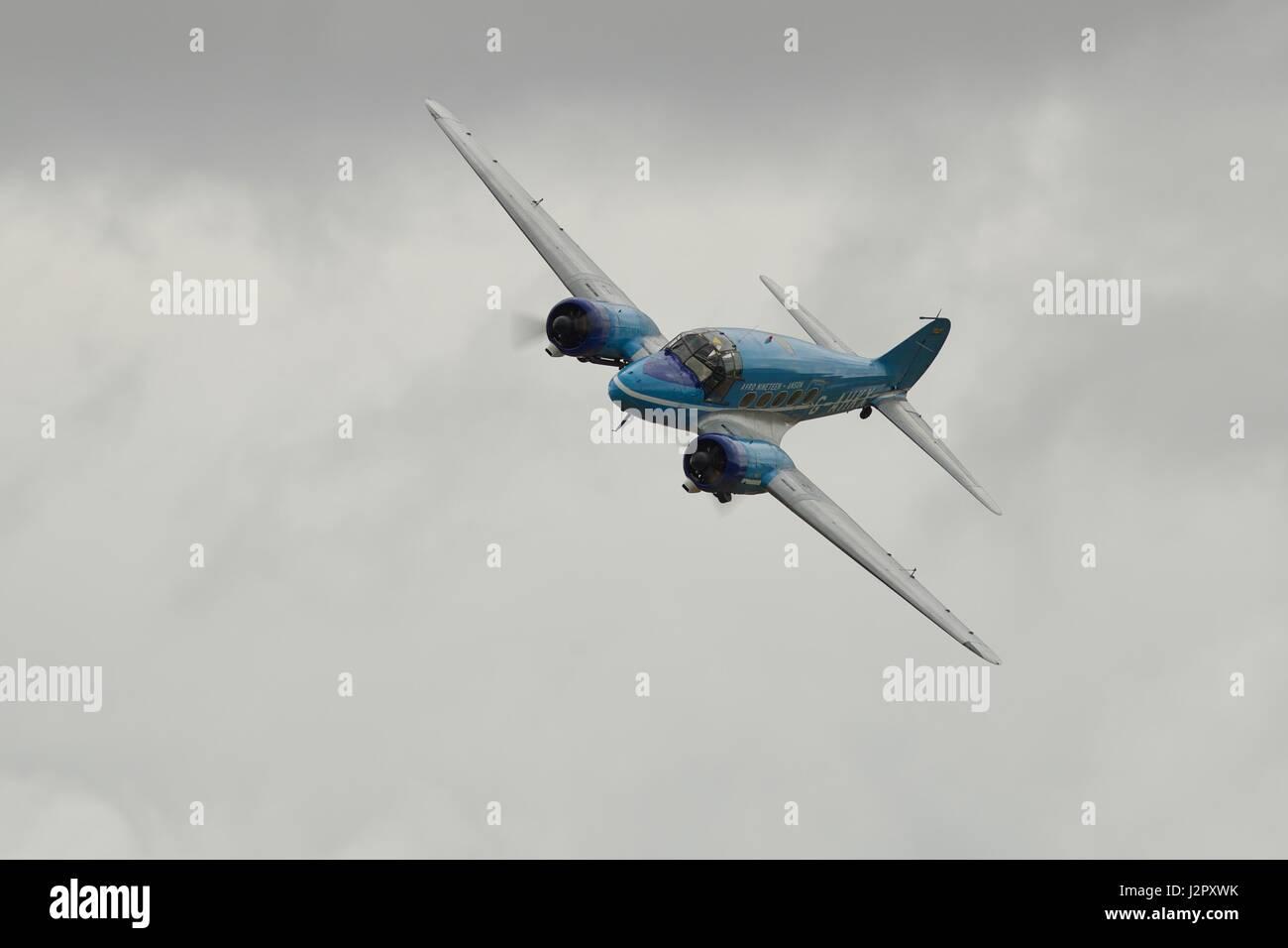 Avro Anson C19 Immagini Stock