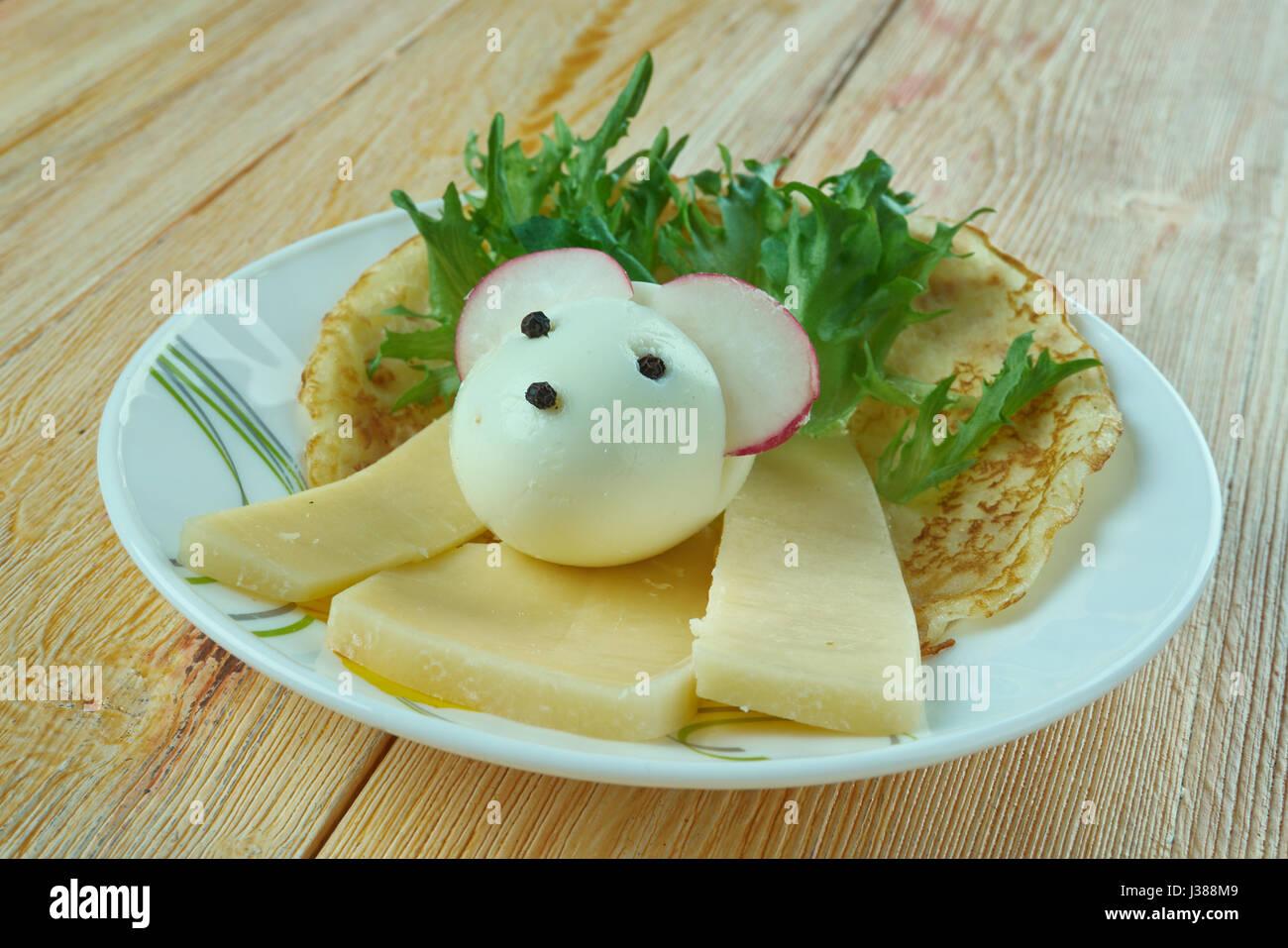 Cucina creativa concetto full cresciute mouse fatta con for Cucina creativa