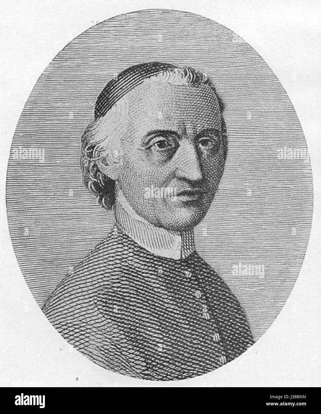 Egidio Forcellini immagina philologorum Immagini Stock