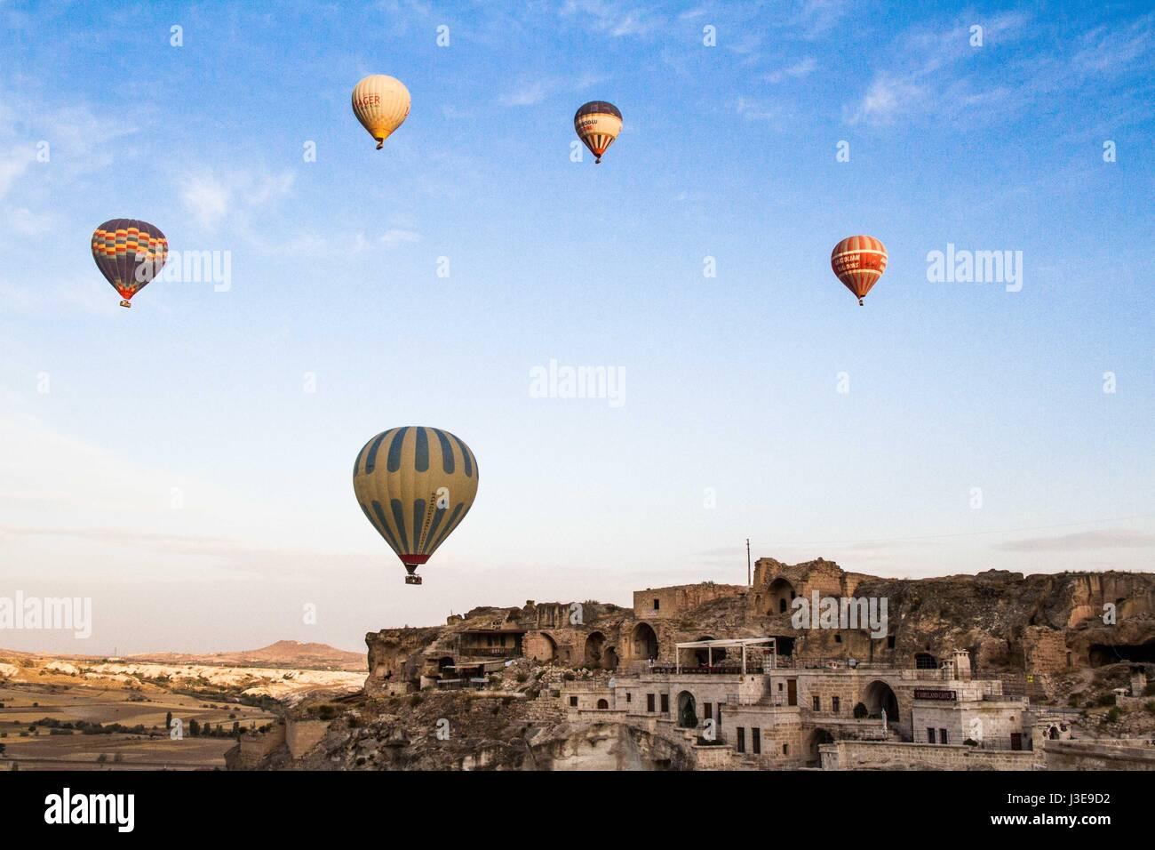 Palloni Ad Aria Calda.I Palloni Ad Aria Calda In Cappadocia Turchia Foto Immagine