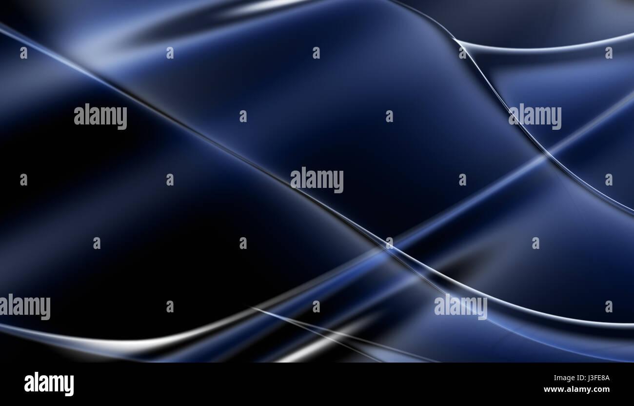 Abstract blu sventola sullo sfondo delle linee Foto Stock