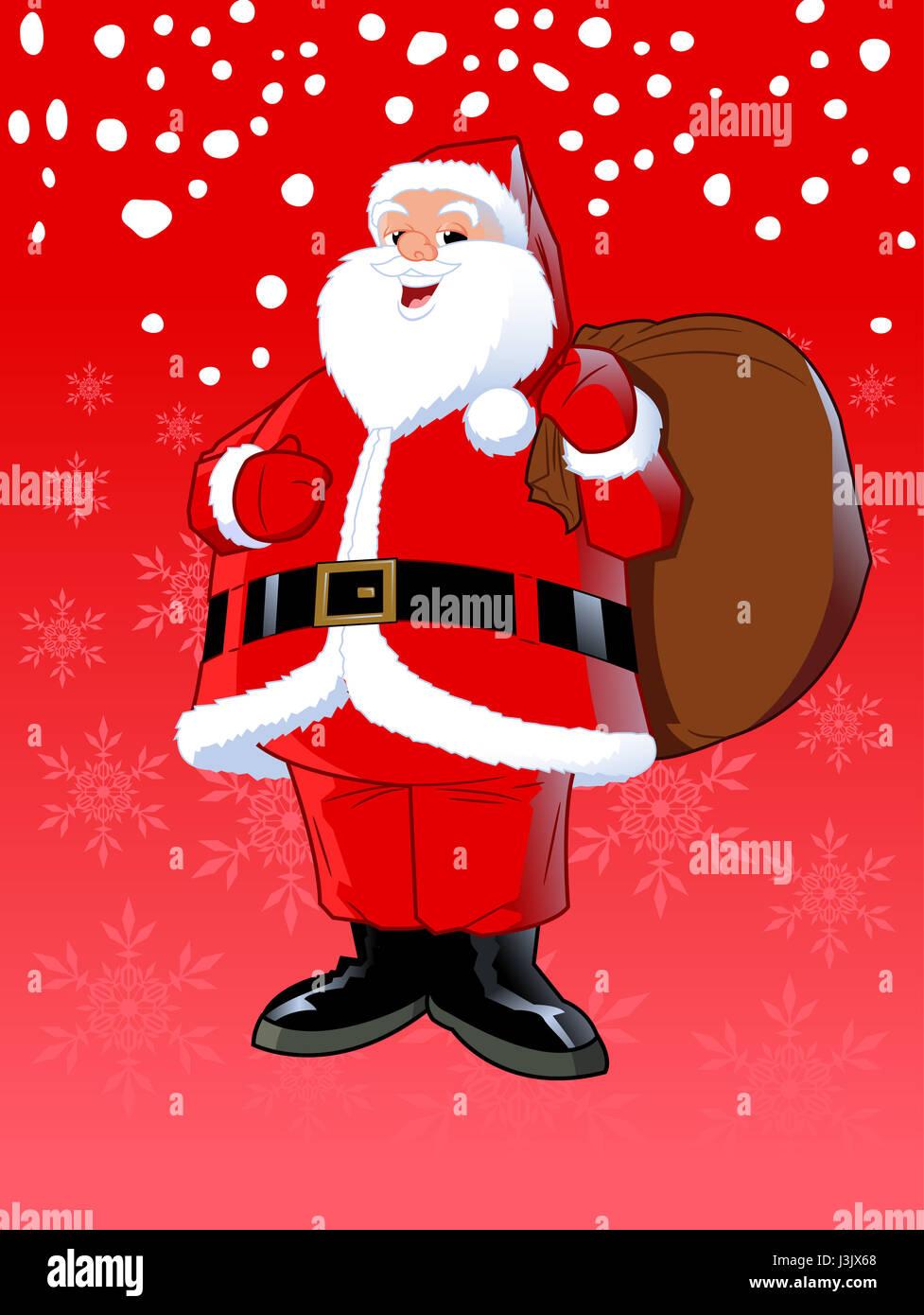 Immagini Babbo Natale Con Sacco.Babbo Natale Con Sacco Foto Immagine Stock 139942608 Alamy